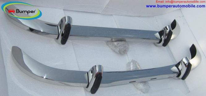 Saab 96 Longnose bumper (1965 – 1970) by stainless steel