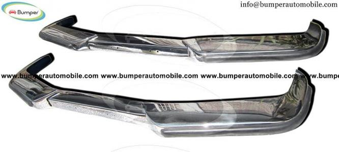 Volvo P1800 S/ES bumper (1963-1973) in stainless steel