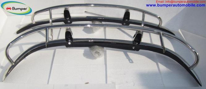 Volvo PV 544 US type bumper (1958-1965) in stainless steel