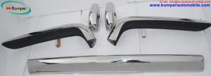 Rolls Royce Silver Shadow bumper (1965-1977) stainless steel
