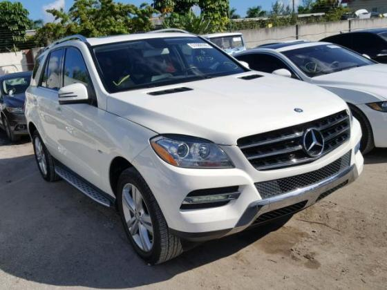 2012 MERCEDES ML-350 FOR SALE AT AUCTION PRICE CALL 08067816891