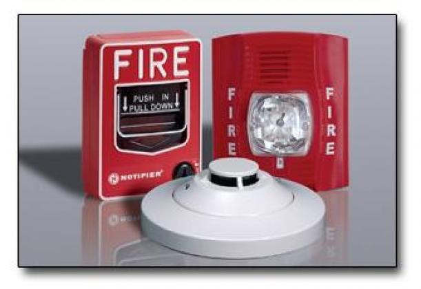 Fire / Smoke Alarm Detector System By Ezilife