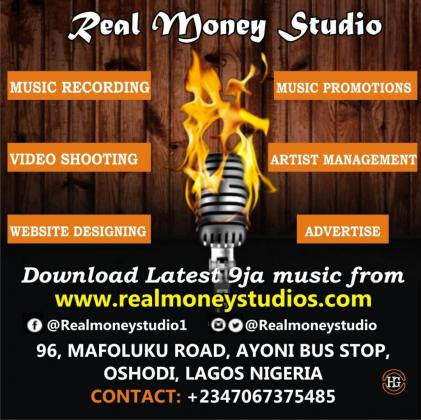 Lagos recording studio
