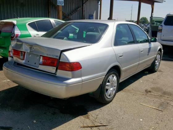 2001 TOYOTA CAMRY LE  WITH FULL OPTION CONTACT SELLER 07089208062