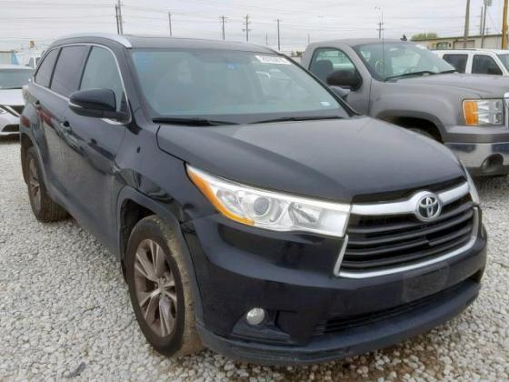 208 TOYOTA HIGHLANDER XLE  with clean leather seat 07089208062