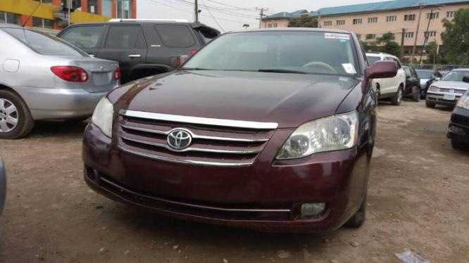 AUCTION TOYOTA AVALON 2006 MODEL CONTACT 07033526206