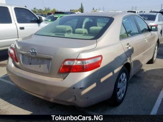 AUCTION TOYOTA CAMRY 2007 MODEL CONTACT 07033526206