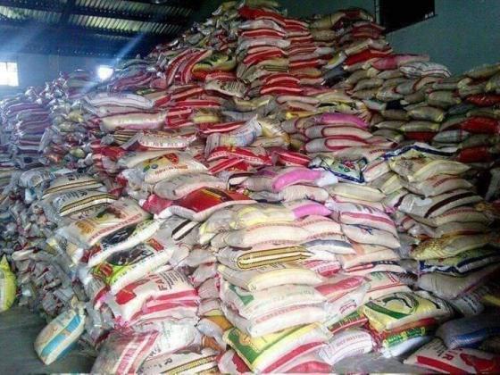 NIGERIA CUSTOM SERVICE  2021 AUCTION RICE  7,500 PER BAG 50KG, CALL 081-4342-1205