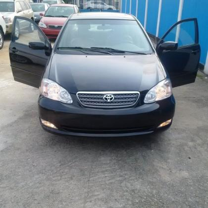 VERY CLEAN 2003 TOYOTA COROLA FOR SALE CALL ON MISS CHIOMA 08103756362