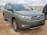 2011 TOYOTA HIGHLANDER BASE WITH FACTORY FITTED AIR CONDITION CONTACT SELLER 07089208062