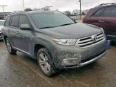 2013 TOYOTA HIGHLANDER LIMITED FIRST GRADE WITH GOOD INTERIOR CONTACT SELLER 08160794528