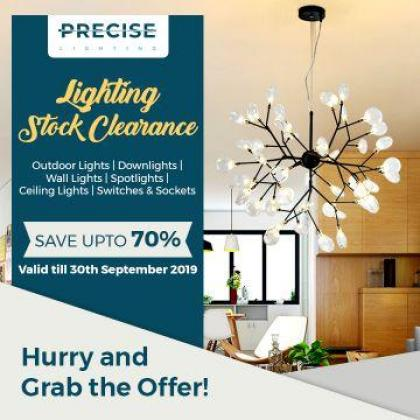 Lighting Stock Clearance | Lighting Clearance Sale | Upto 70% Off