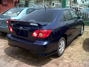 Clean Toyota corolla sport