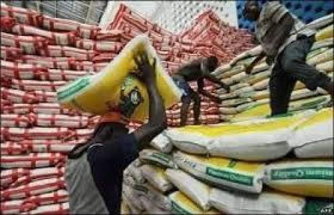 Nigeria custom auction rice for sale