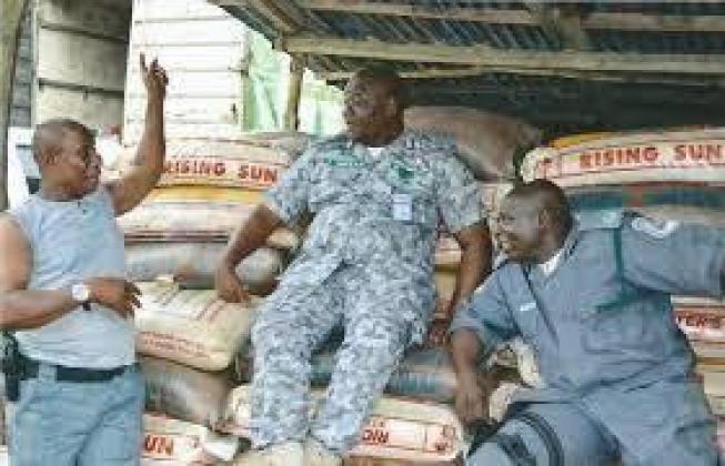 NIGERIA CUSTOM SERVICE BAG OF RICE FOR SALE