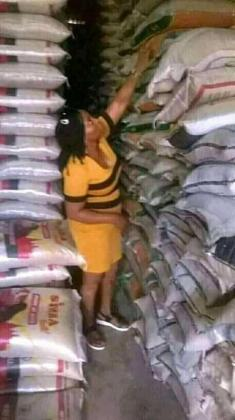 Purchase Complete 50kg Bags of Rice at an auction sales. Contact 08039660090