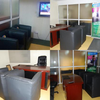 FURNISHED PRIVATE OFFICE  AVAILABLE FOR RENT NOW
