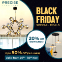Precise Lighting: Black Friday Exclusive Sale | Save Upto 50%