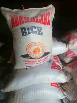 Stone free Abakaliki rice