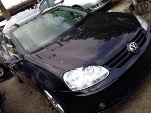 2007 Vw Golf 5 With Leather Interior