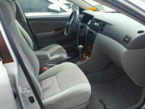 AUCTION CARS VERY CLEAN 2007 TOYOTA COROLLA FOR SALE