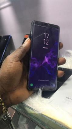 Clean Uk used S9 plus for sale at affordable price, and with warranty
