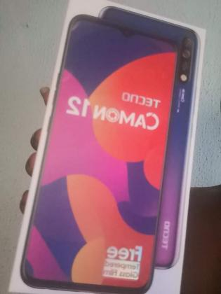 Clean Uk used tecno camon 12 for sale