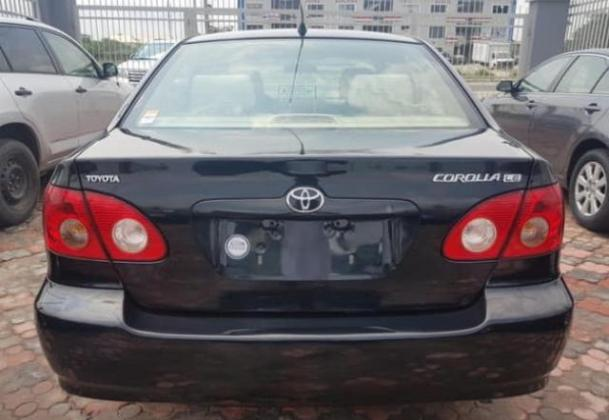 Toyota Corolla  2007 model