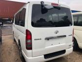 Clean and sound foreign used toyota hiace bus 2010 model