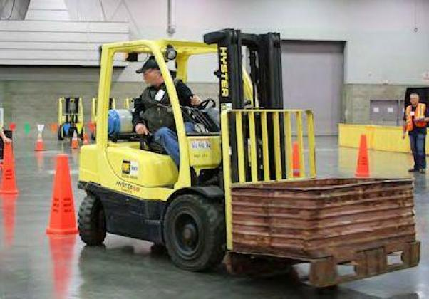 INDUSTRIAL FORKLIFT TRAINING in LAGOS