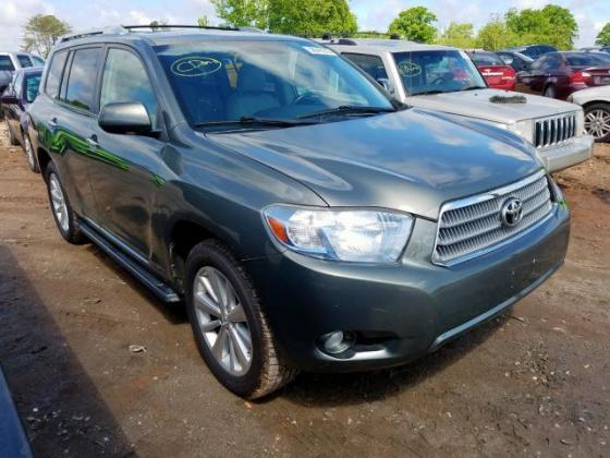 2008 TOYOTA HIGHLANDER HYBRID CALL ON 07045512391