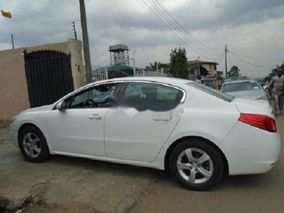Foreign Used Peugeot 508 2013 Model White