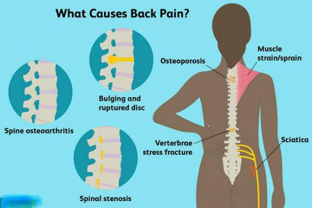 Oriental therapy for back pain