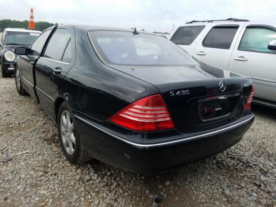 2005 MERCEDES-BENZ S 430 4MATIC FOR SALE CALL:07045512391