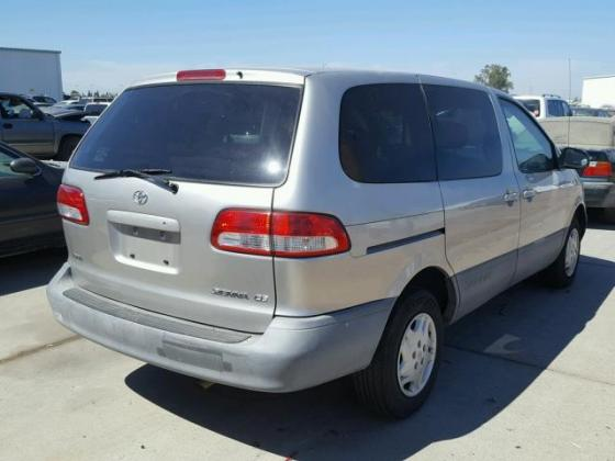 2002 TOYOTA SIENNA  FOR SALE AT AUCTION PRICE CALL 09035430880