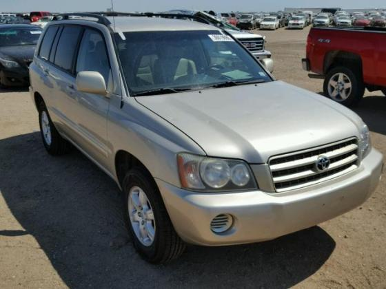 2002 TOYOTA HIGHLANDER  AVAILABLE FOR SALE CALL 07045512391