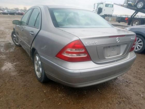 2004 MERCEDES-BENZ C 240 4MATIC FOR SALE CALL;07045512391