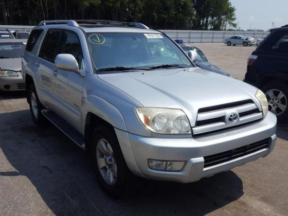 2004 TOYOTA 4RUNNER LIMITED FOR SALE CALL;07045512391