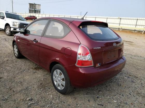 2007 HYUNDAI ACCENT GS FOR SALE CALL:07045512391