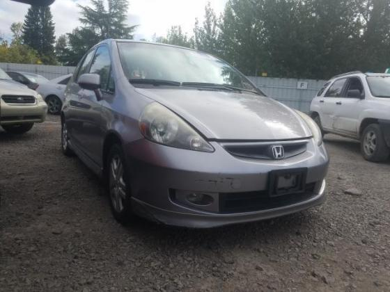 2008 HONDA FIT SPORT  FOR SALE CALL:07045512391