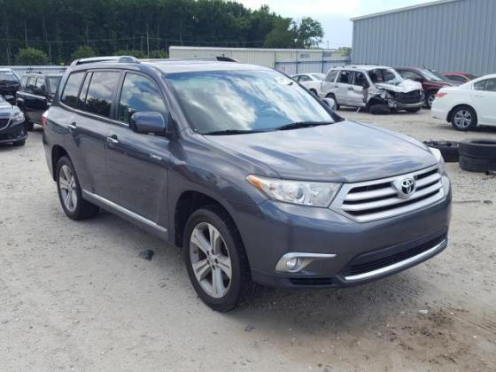 2012 TOYOTA HIGHLANDER LIMITED FOR SALE CALL:07045512391