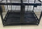 Dog Cage With Double Doors Available For Sale