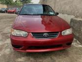 Clean and neat Toyota corolla 2001 model for sale