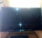 55 inches neatly uesd Samsung smart Tv